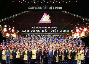 TOP 200 SAO VÀNG ĐẤT VIỆT 2018